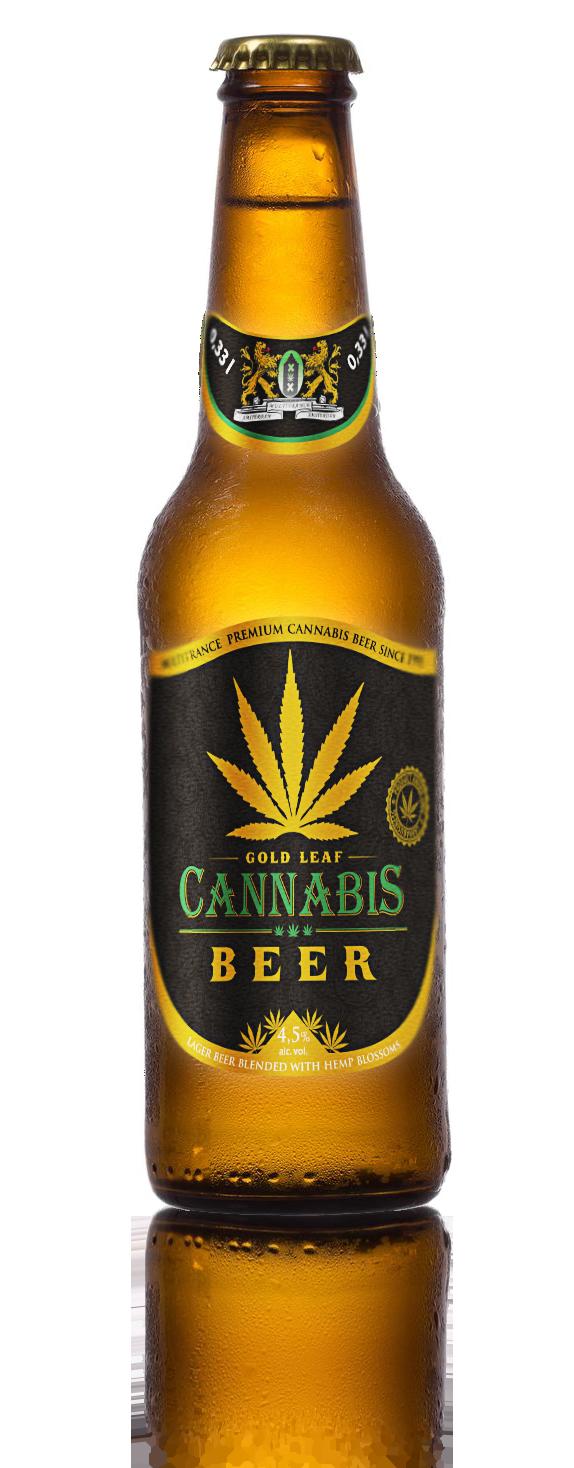 Gold Leaf Beer - Premium Cannabis Beer Since 1995 - Hemp Beer